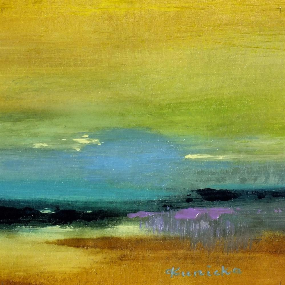 """Landscape 140"" original fine art by Ewa Kunicka"