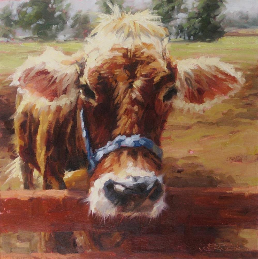 """""""Tina Backlit"""" original fine art by Karen Werner"""