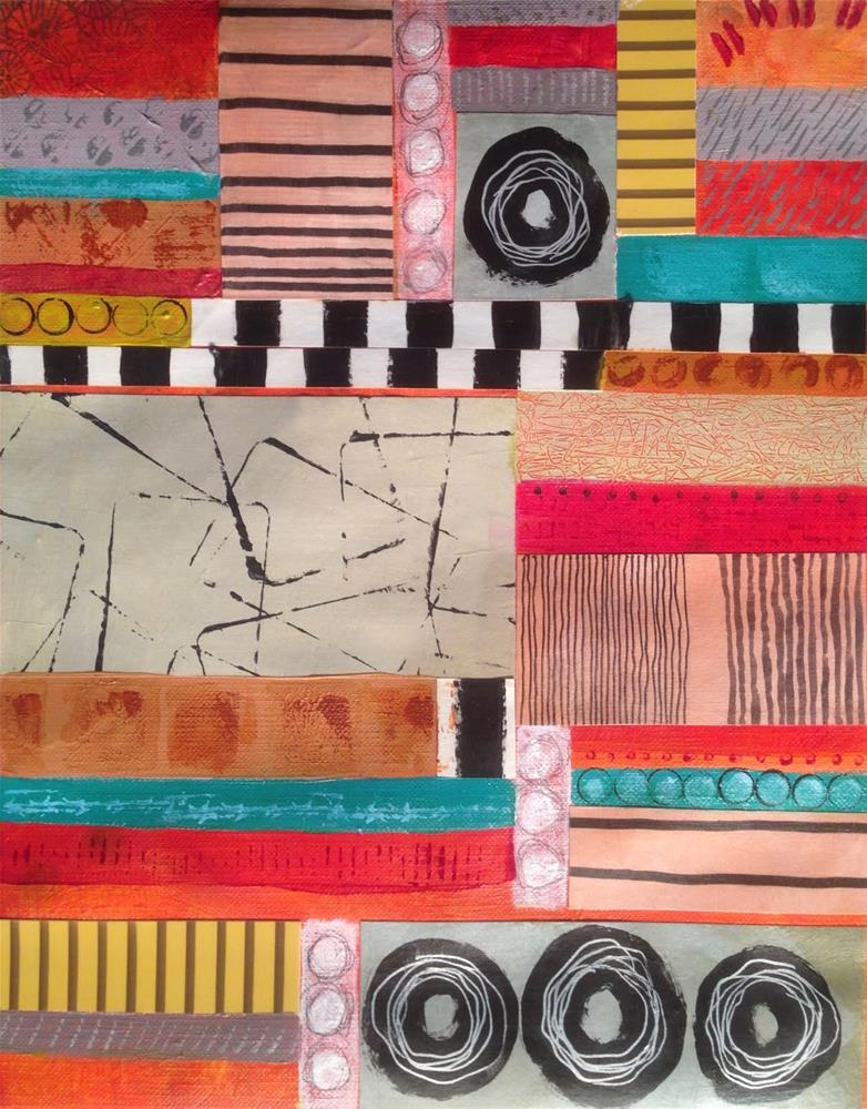 """""""Simplicity Pattern 4116"""" original fine art by Dotty Seiter"""