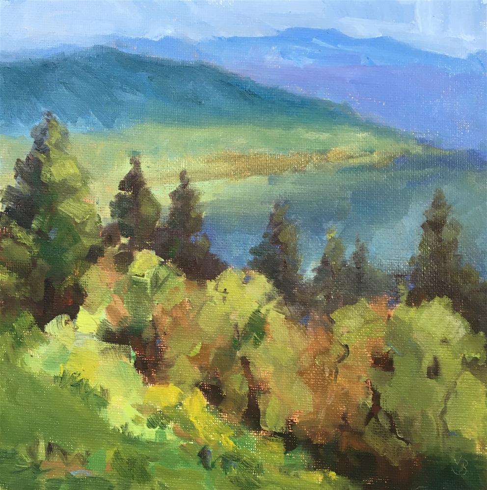 """Mt Baldy l"" original fine art by Victoria  Biedron"