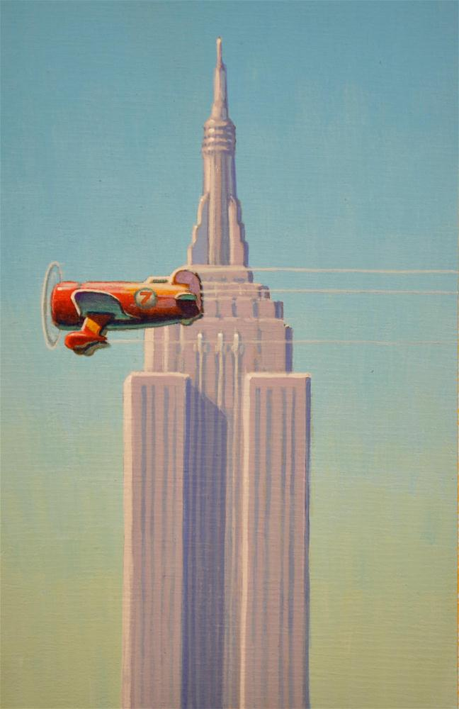 """Tallest"" original fine art by Robert LaDuke"