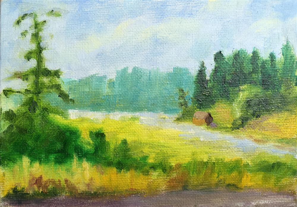 """Summer Day"" original fine art by Tracy Wise"