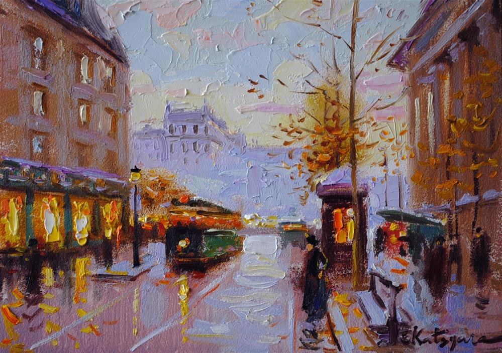 """""""Daylights"""" original fine art by Elena Katsyura"""