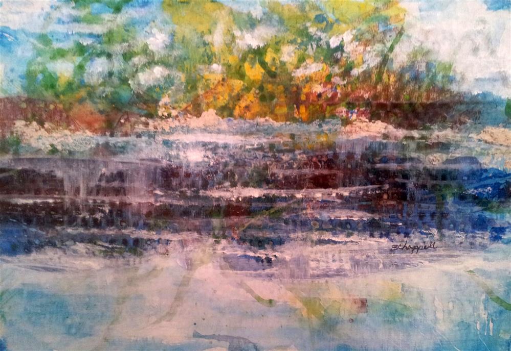 """""""Serene"""" original fine art by Becky Chappell"""