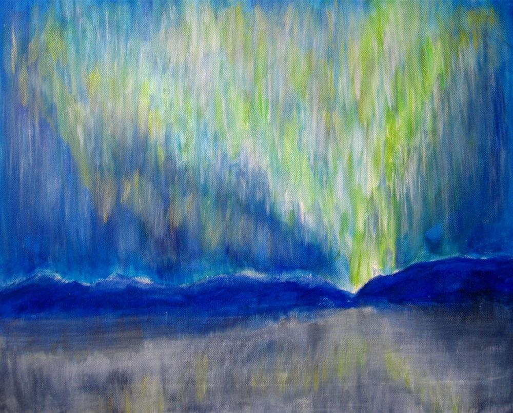 """Aurora Iceland"" original fine art by Alina Frent"
