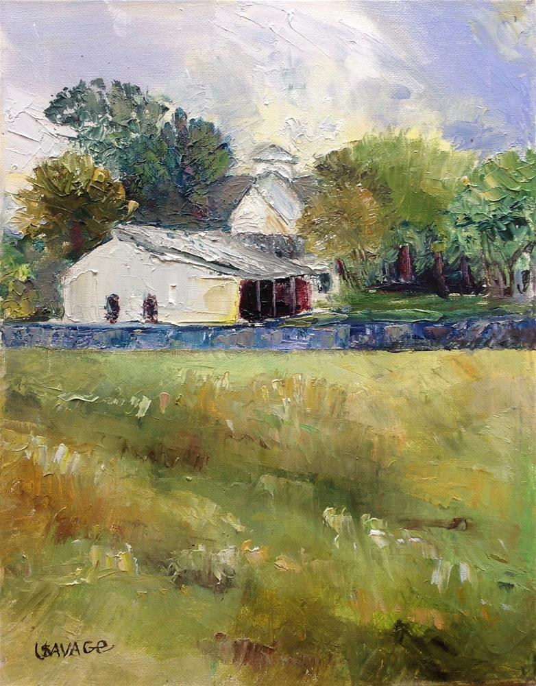 """Country Lifestyle"" original fine art by Judy Usavage"