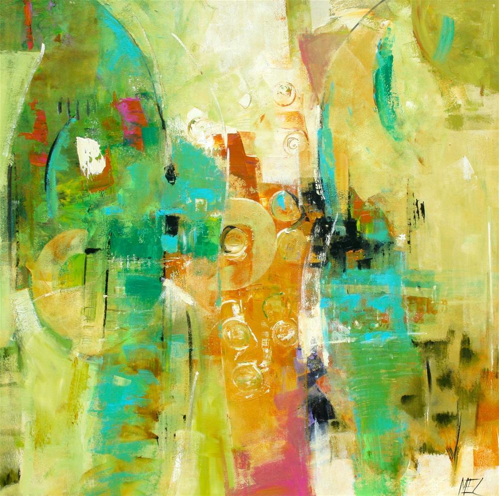 """Softwood"" original fine art by Elizabeth Chapman"