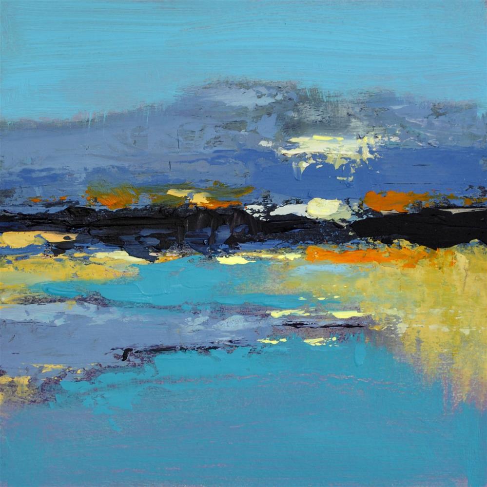 """Landscape 233"" original fine art by Ewa Kunicka"