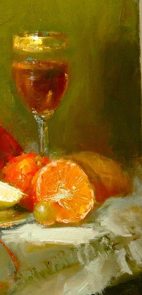 """Sherry"" original fine art by Johanna Spinks"