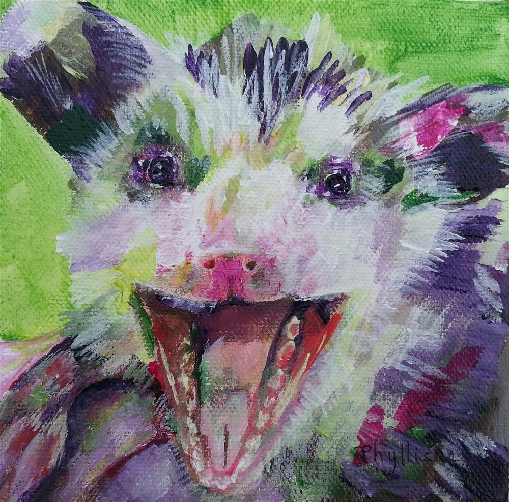 """Baby Opi #2"" original fine art by Phyllisha Hamrick"