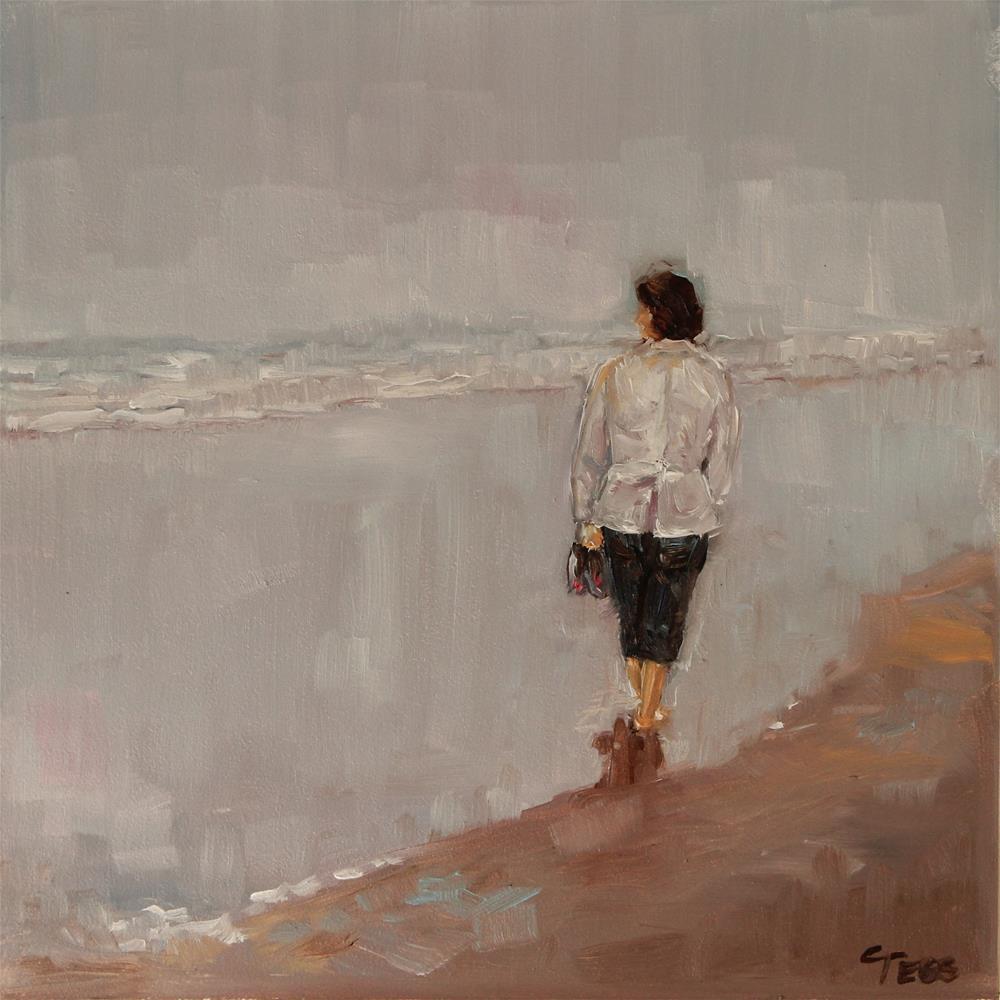 """Oh Well- Fleetwood Mac"" original fine art by Tess Lehman"