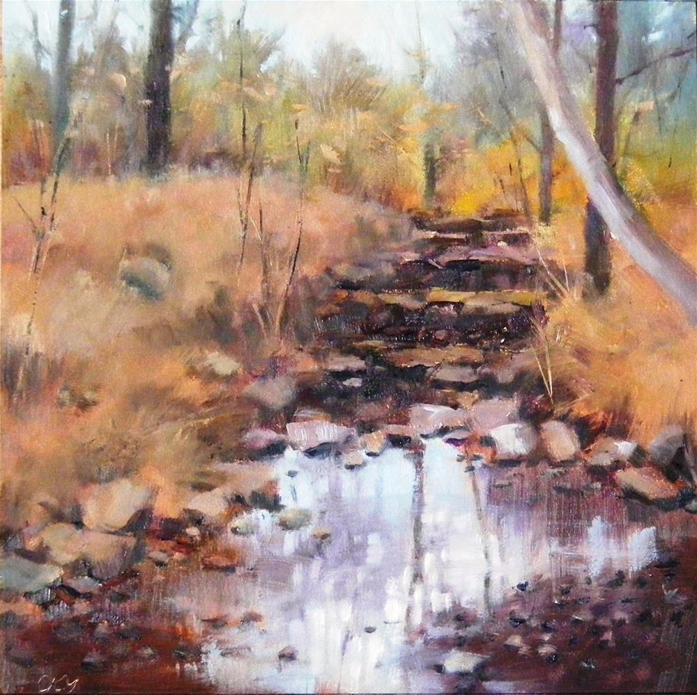 """Another Path"" original fine art by Celine K.  Yong"