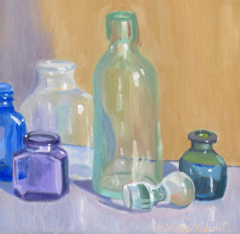 """The Five Reflections"" original fine art by Michelle Rideout"
