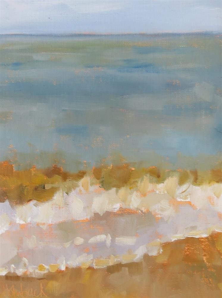"""Quick Wave"" original fine art by Pam Holnback"