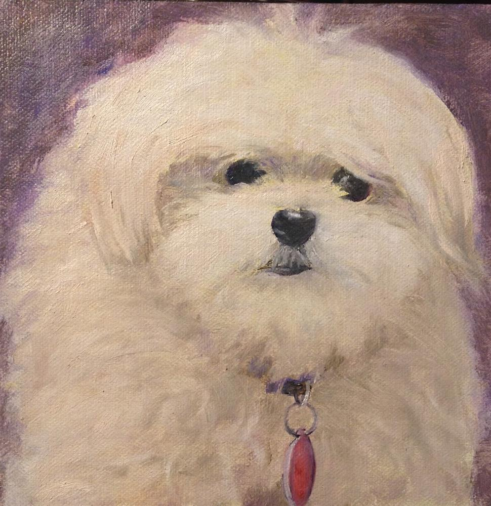 """Coco"" original fine art by Judith McKenna"