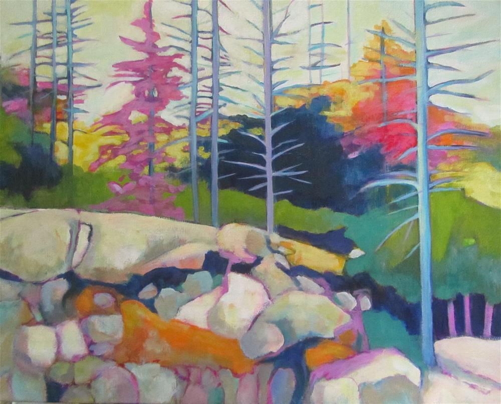 """""""Northern Escape"""" original fine art by Patricia MacDonald"""