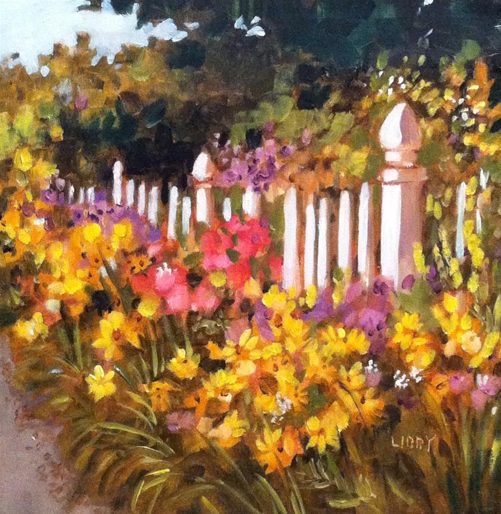 """""""Coronado Garden"""" original fine art by Libby Anderson"""