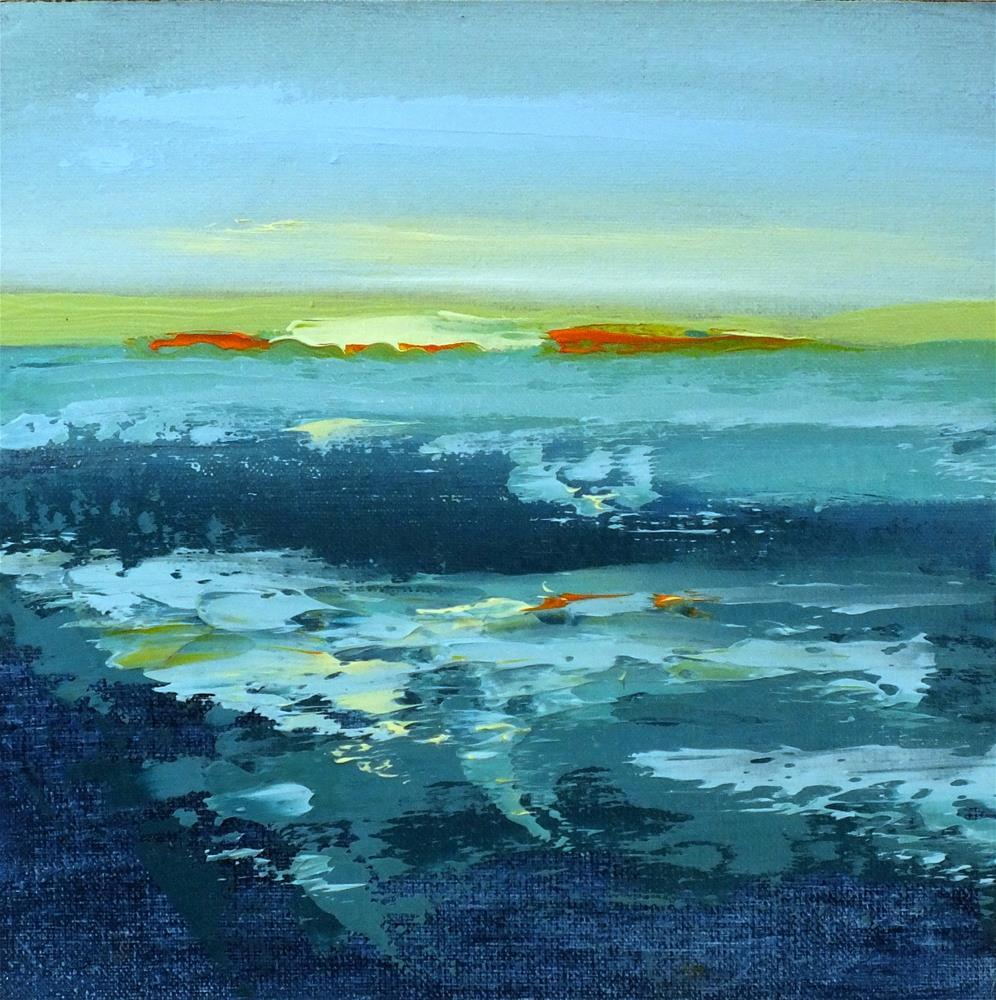 """Landscape 126"" original fine art by Ewa Kunicka"