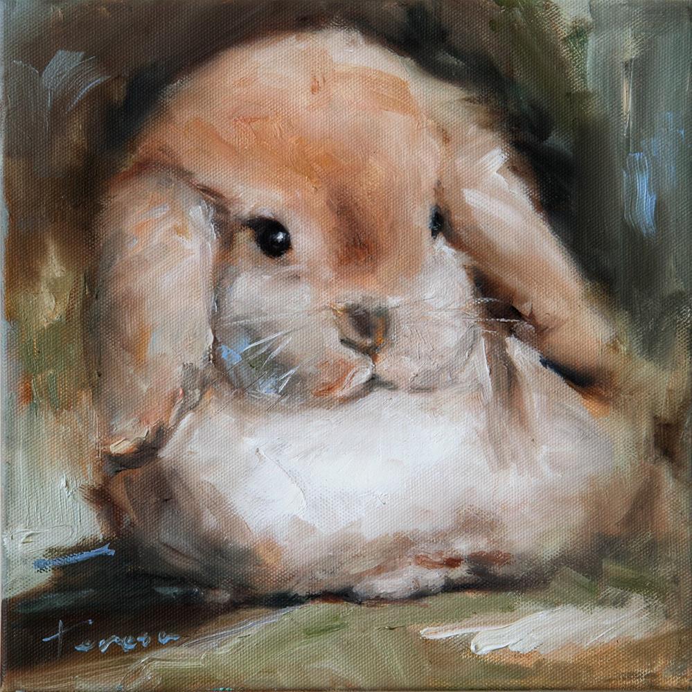 """Bunny"" original fine art by Teresa Yoo"