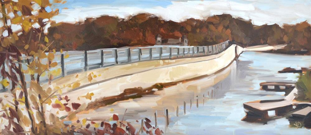 """Bridge and Beyond"" original fine art by Jessica Green"