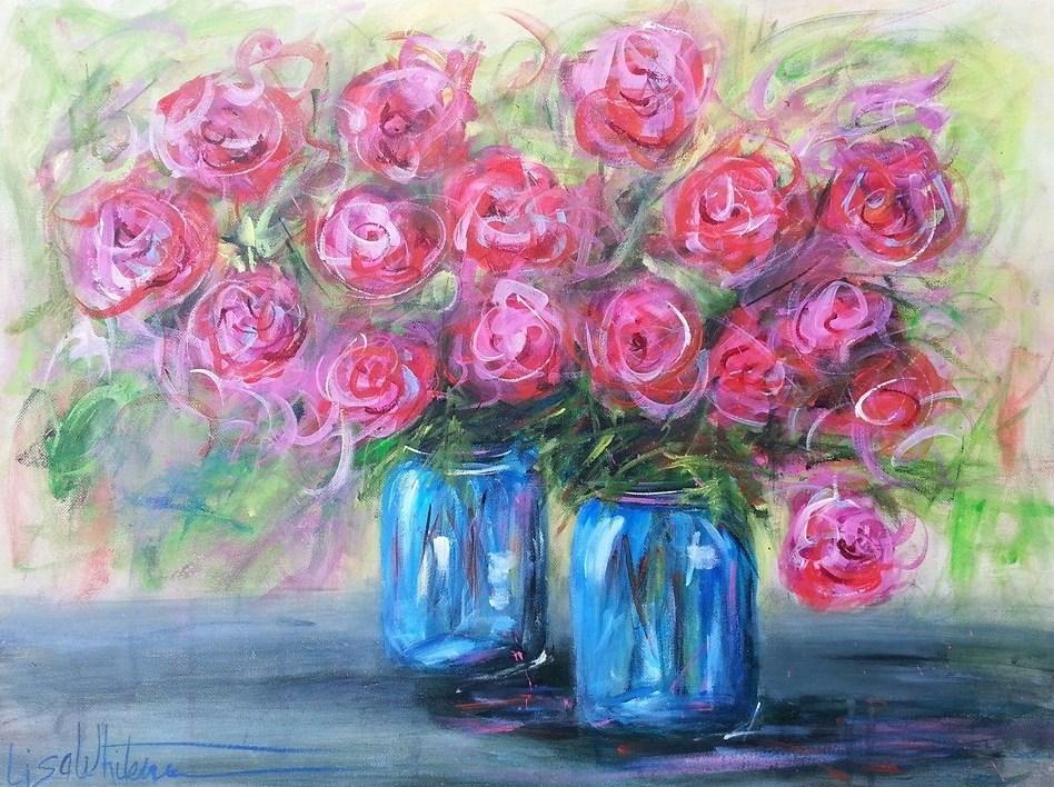 """""""7 - Teresa B"""" original fine art by Lisa Whitener"""