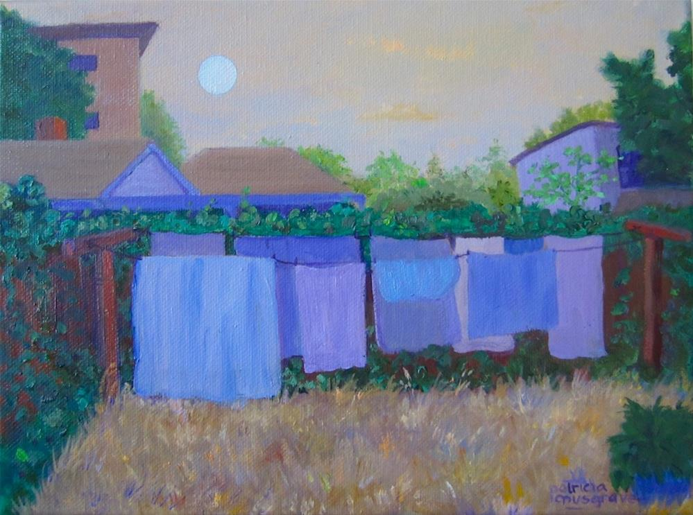 """Blue Moon"" original fine art by Patricia Musgrave"
