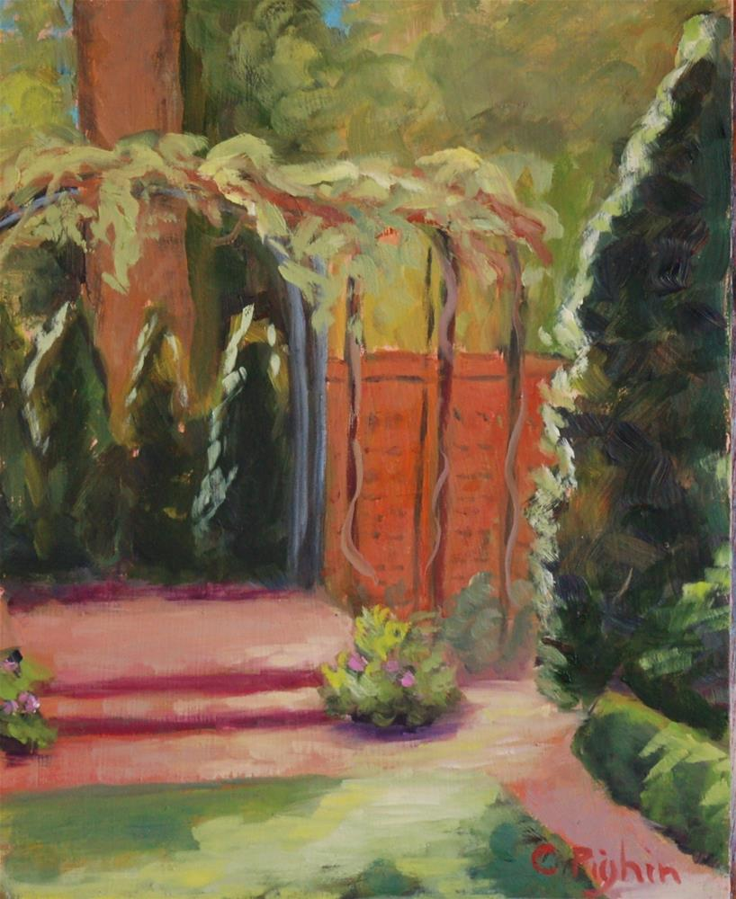 """Wing Haven"" original fine art by Carol Pighin"