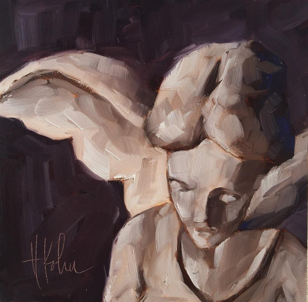 """Angel (1)"" original fine art by Hallie Kohn"