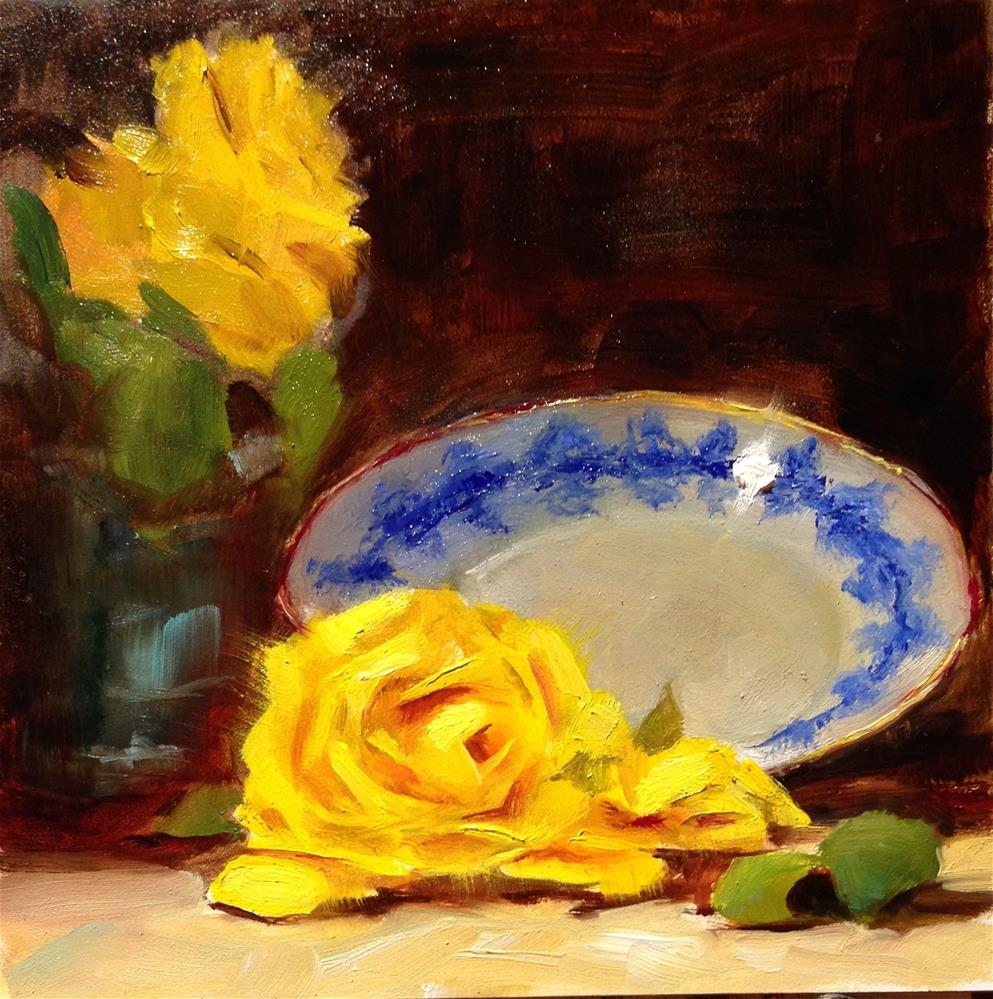 """""""A Time and Place"""" original fine art by Dorothy Woolbright"""