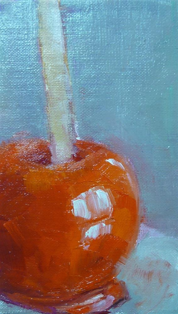 """Candy Apple"" original fine art by Carol Josefiak"