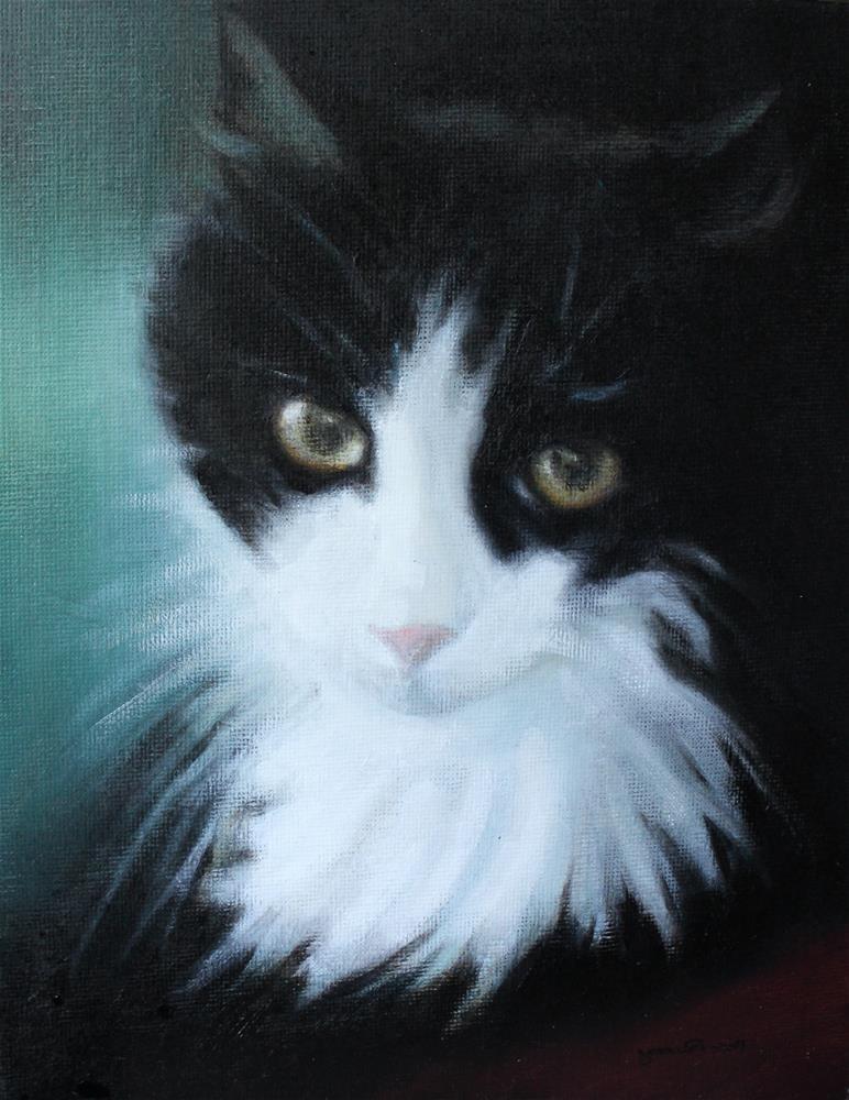 """""""Watson"""" original fine art by Joan Carroll"""