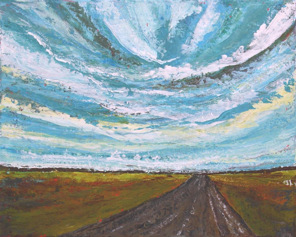 """Along the Road"" original fine art by Sage Mountain"
