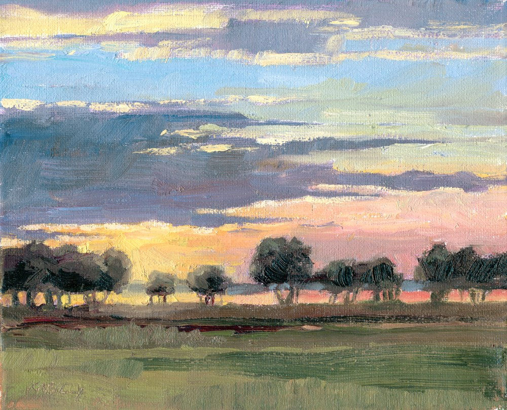 """Dawn Light"" original fine art by Kath Reilly"
