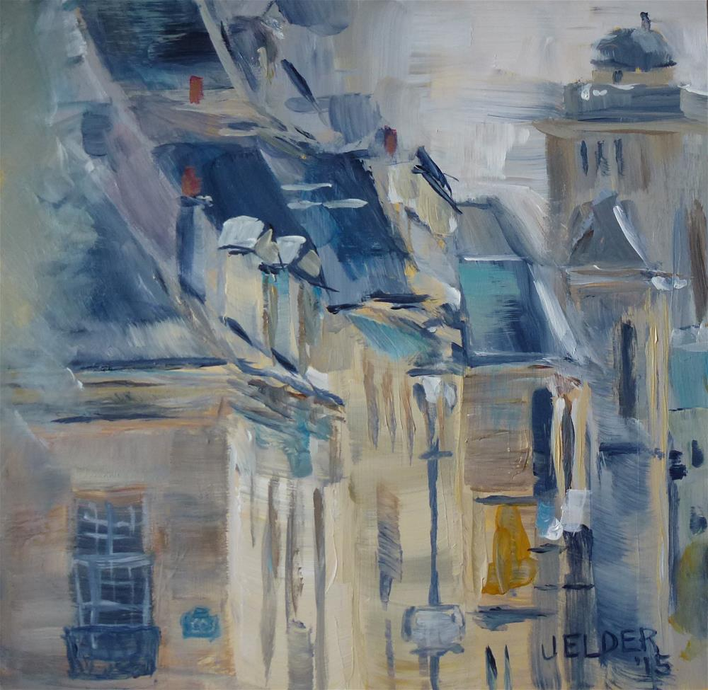 """Paris No. 90"" original fine art by Judith Elder"