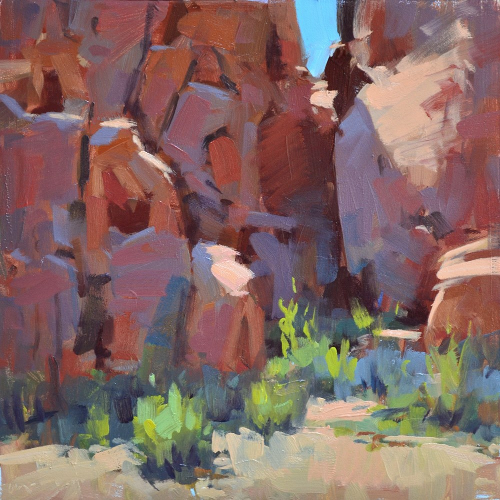 """Valley of Fire"" original fine art by Carol Marine"