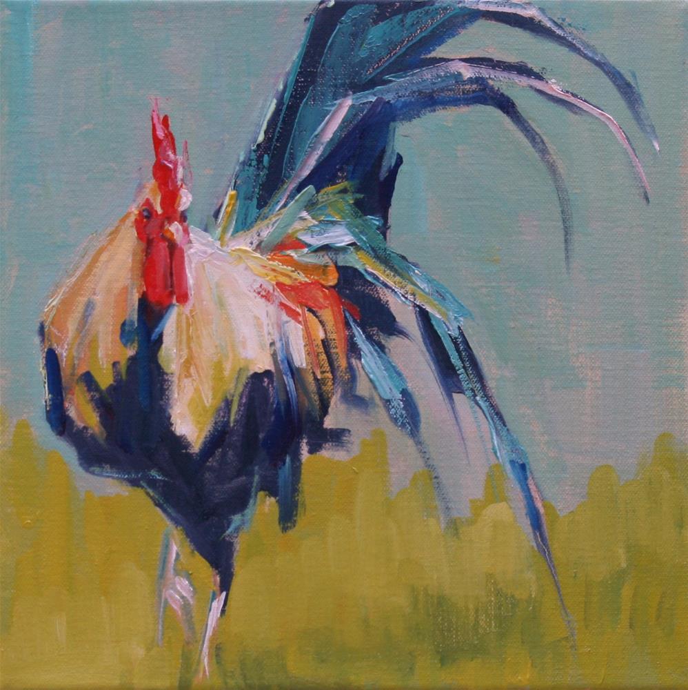 """""""flashy"""" original fine art by Carol Carmichael"""