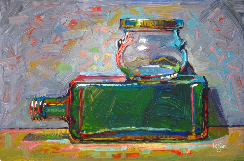 """Olive Oil and Some Kind of Jam or Jelly"" original fine art by Raymond Logan"