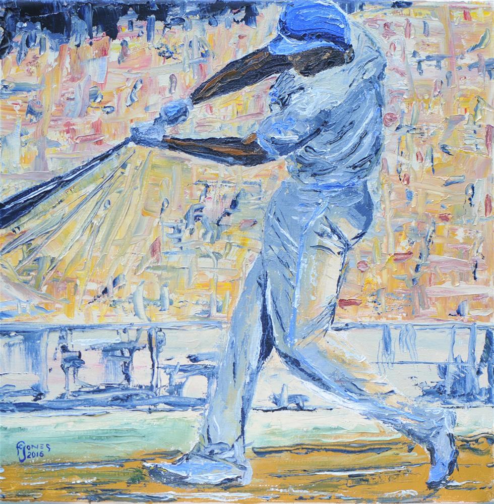 """""""Swing"""" original fine art by Fred Jones"""