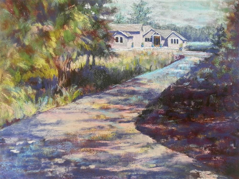 """Caroline's House"" original fine art by Becky Chappell"
