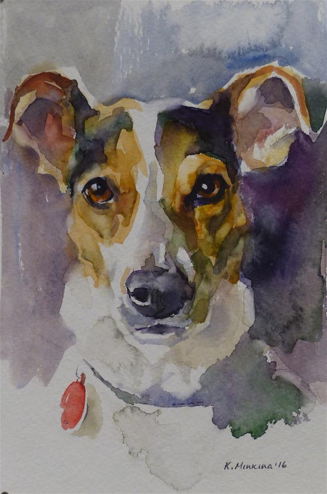 """Chico (commission)"" original fine art by Katya Minkina"