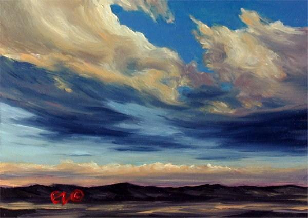 """Drama Queen"" original fine art by Carol Zirkle"