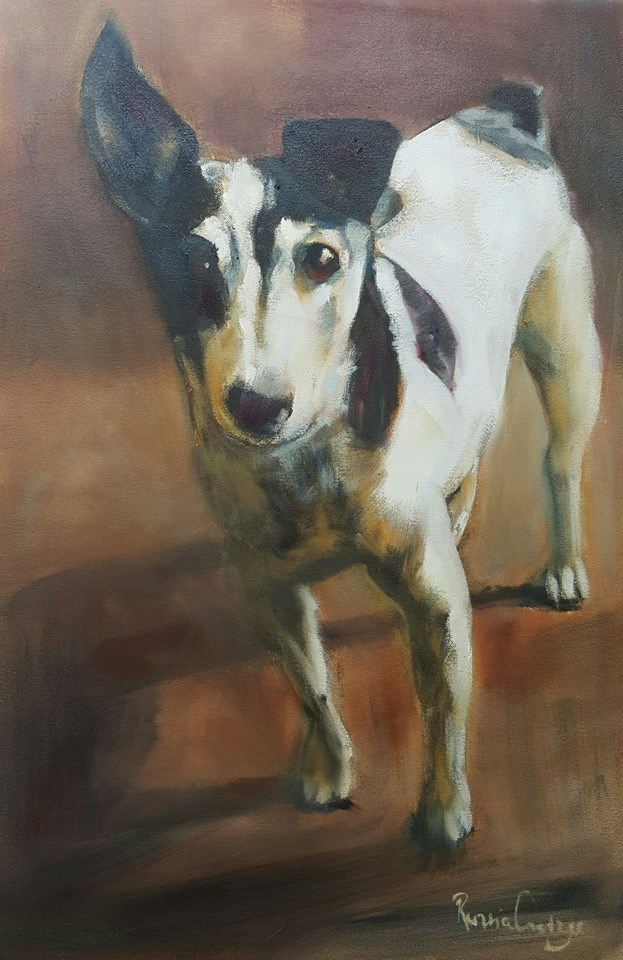 """Kiki"" original fine art by Rentia Coetzee"