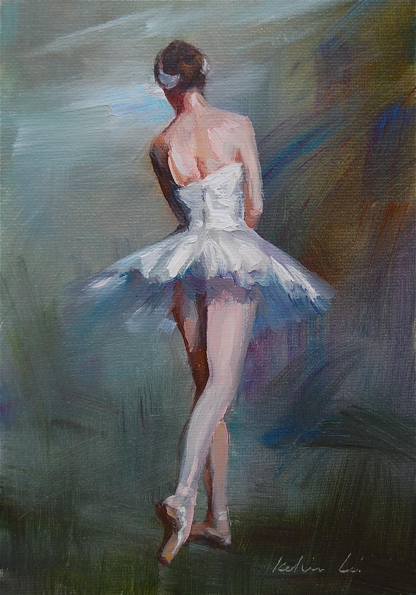 """Ballerina (08)"" original fine art by Kelvin Lei"