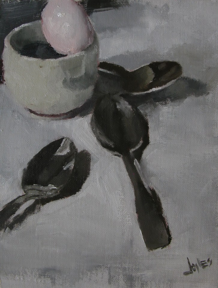 """Spoons"" original fine art by Richard Jones"