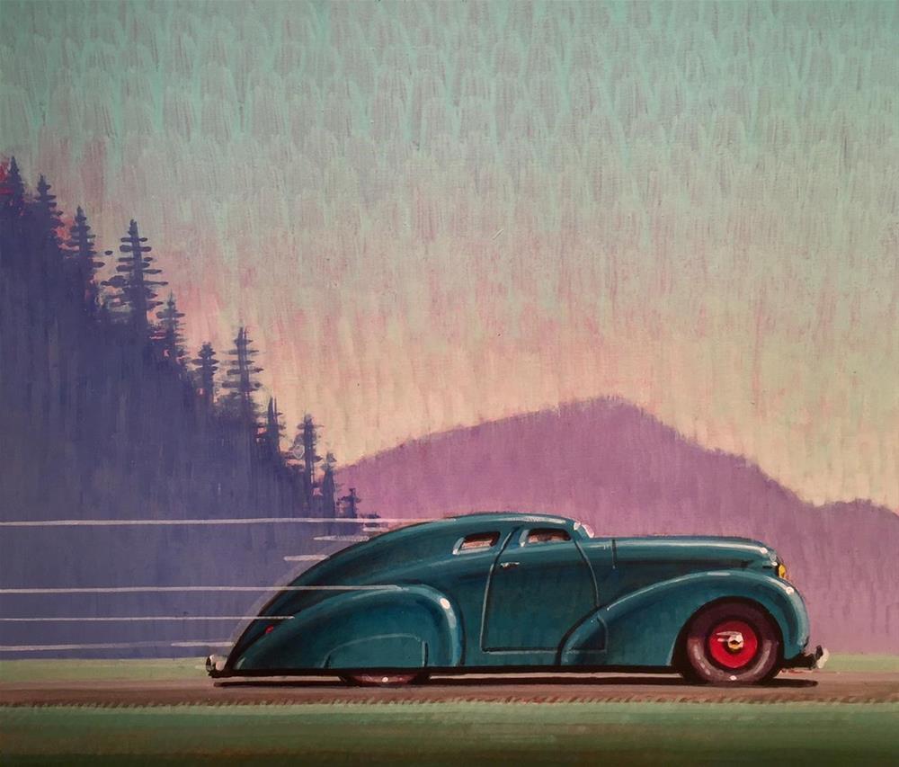 """Open Road"" original fine art by Robert LaDuke"