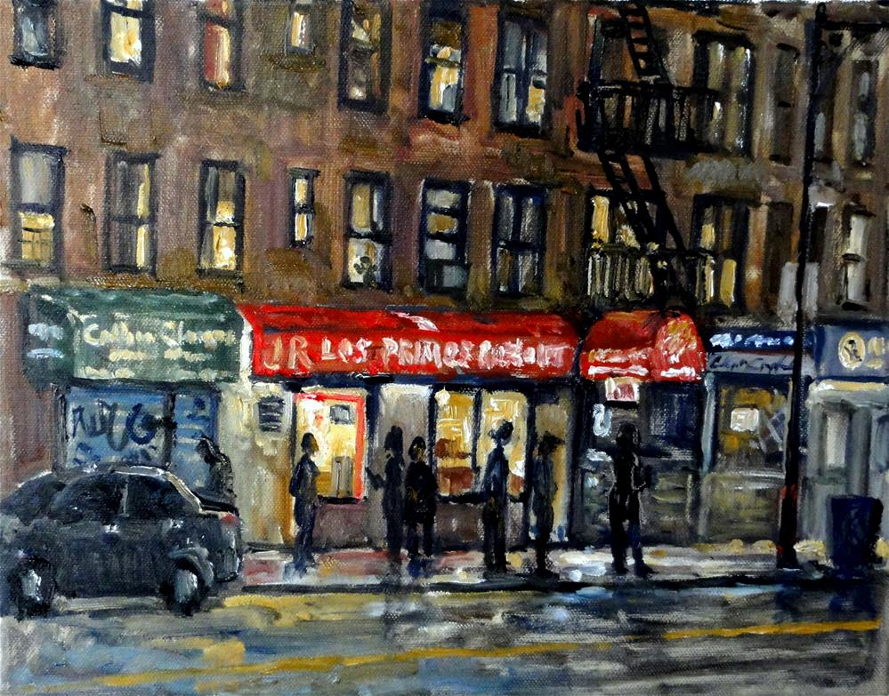"""Broadway Nocturne"" original fine art by Thor Wickstrom"