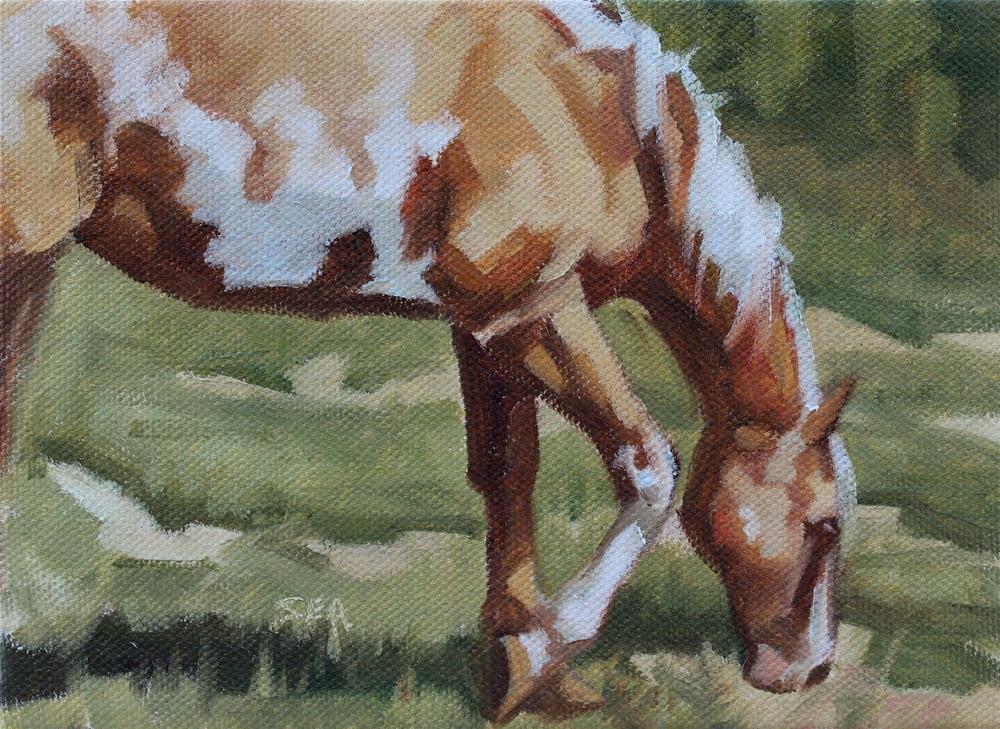 """Meadow VIII"" original fine art by Susan Ashmore"
