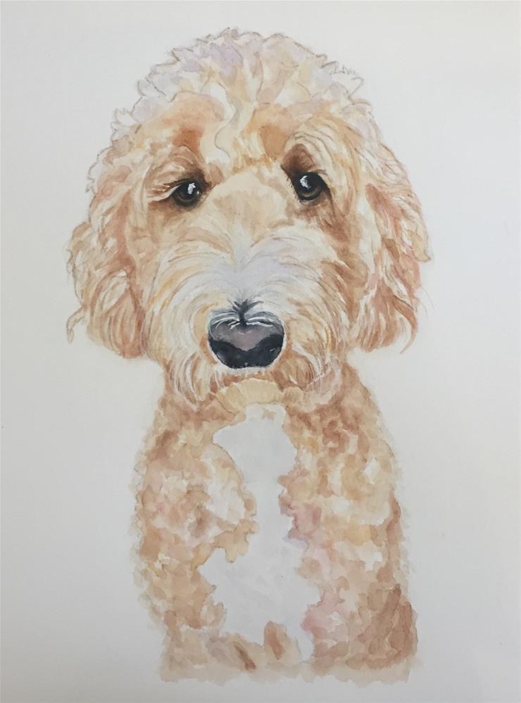 """Penny"" original fine art by Melissa Gresham"