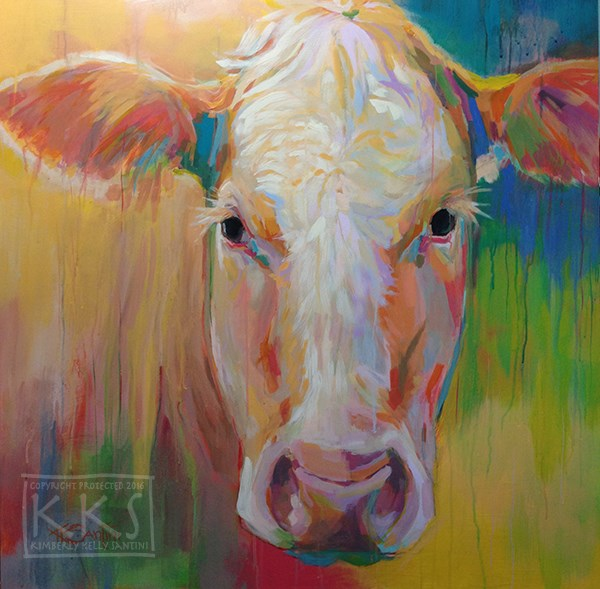 """Maude"" original fine art by Kimberly Santini"