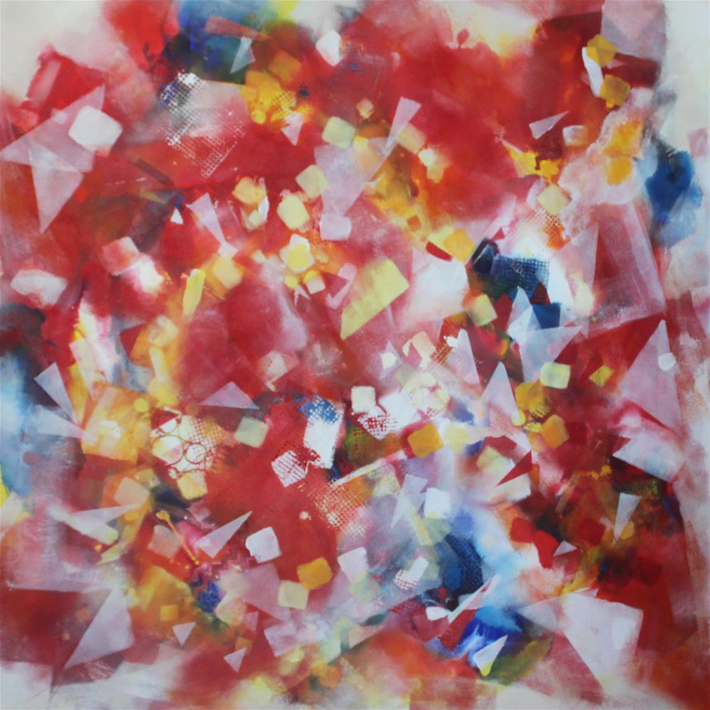 """Dance of the Lights"" original fine art by Christiane Kingsley"